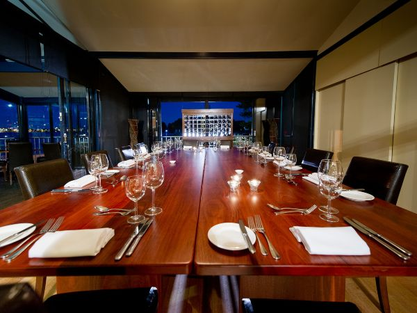 private dining room by the river