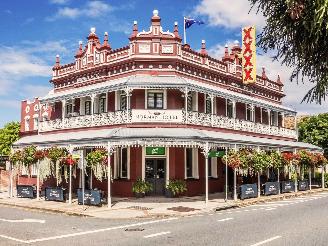 Normal Hotel heritage building