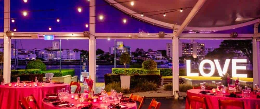 Riverside venue hire