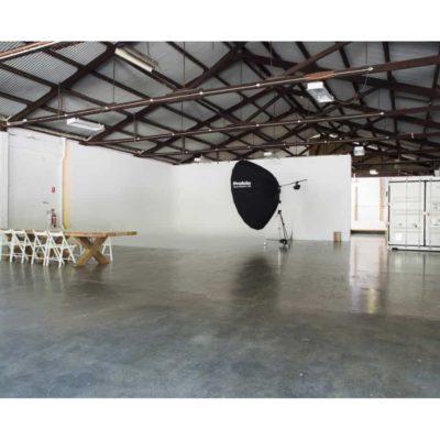 Photo studio space