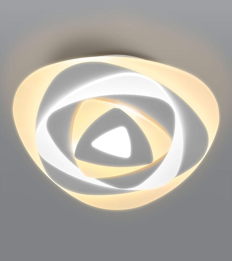 Светодиодный потолочный светильник с пультом управления 90212/1 белый 2