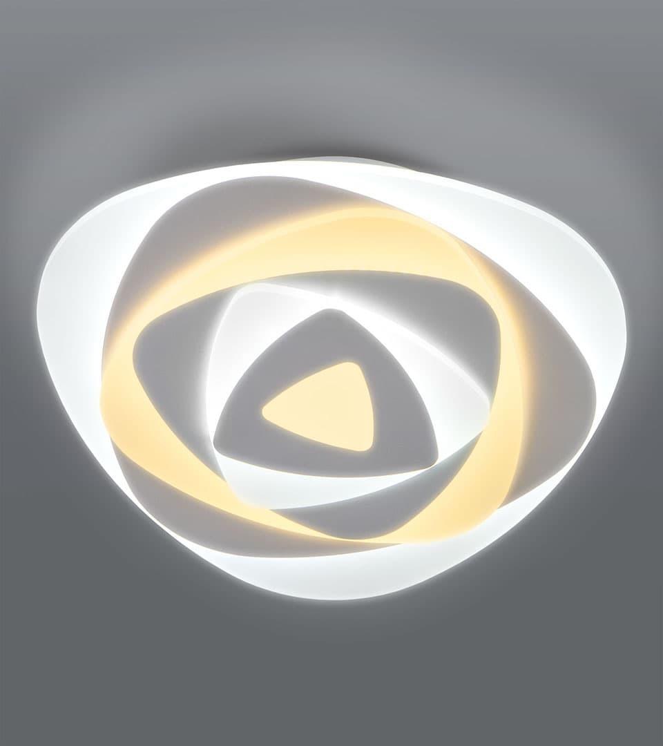 Светодиодный потолочный светильник с пультом управления 90212/1 белый 1