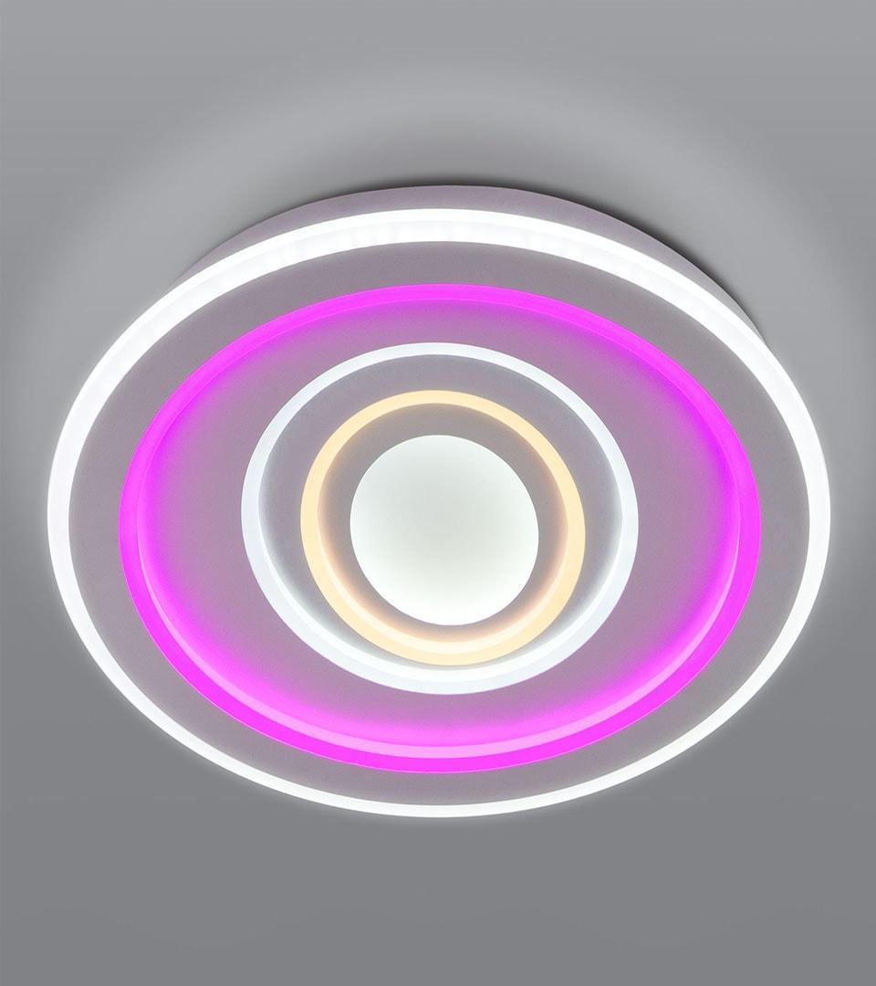 Потолочный светодиодный светильник с пультом управления 90214/1 3