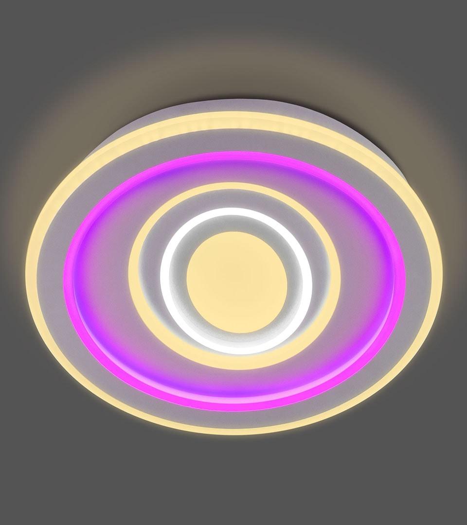 Потолочный светодиодный светильник с пультом управления 90214/1 2