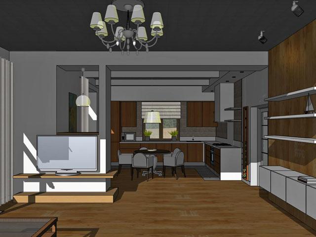 Дизайн натяжных потолков 1