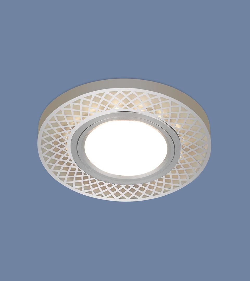 Встраиваемый потолочный светильник со светодиодной подсветкой 2232 MR16 2