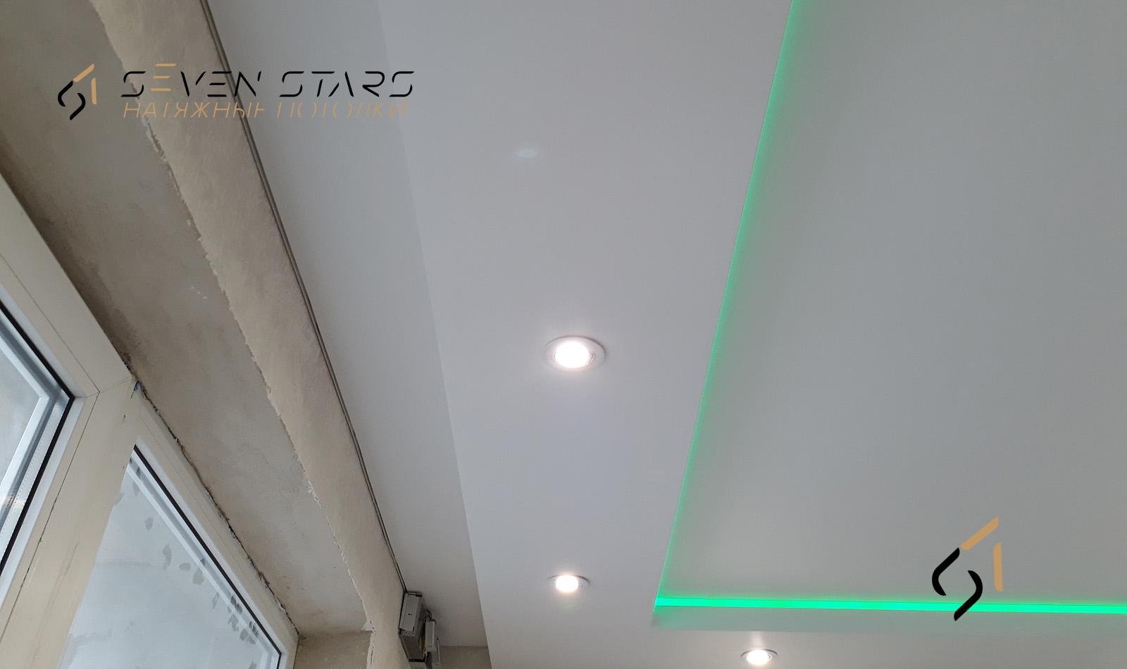 Двухуровневые потолки 18