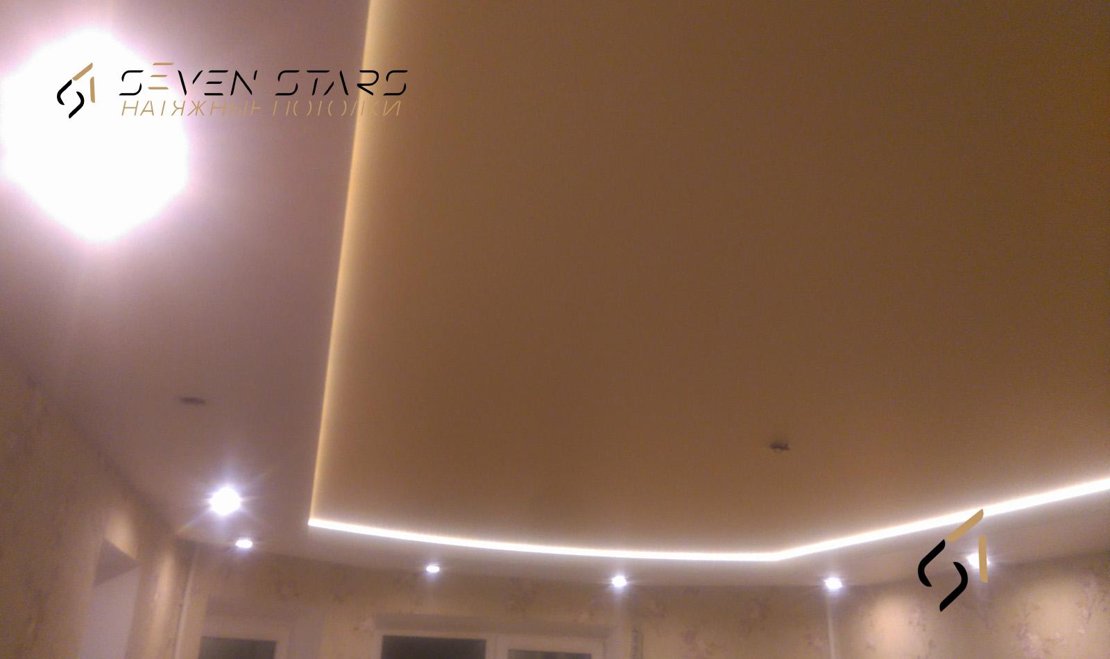 Двухуровневые потолки 24