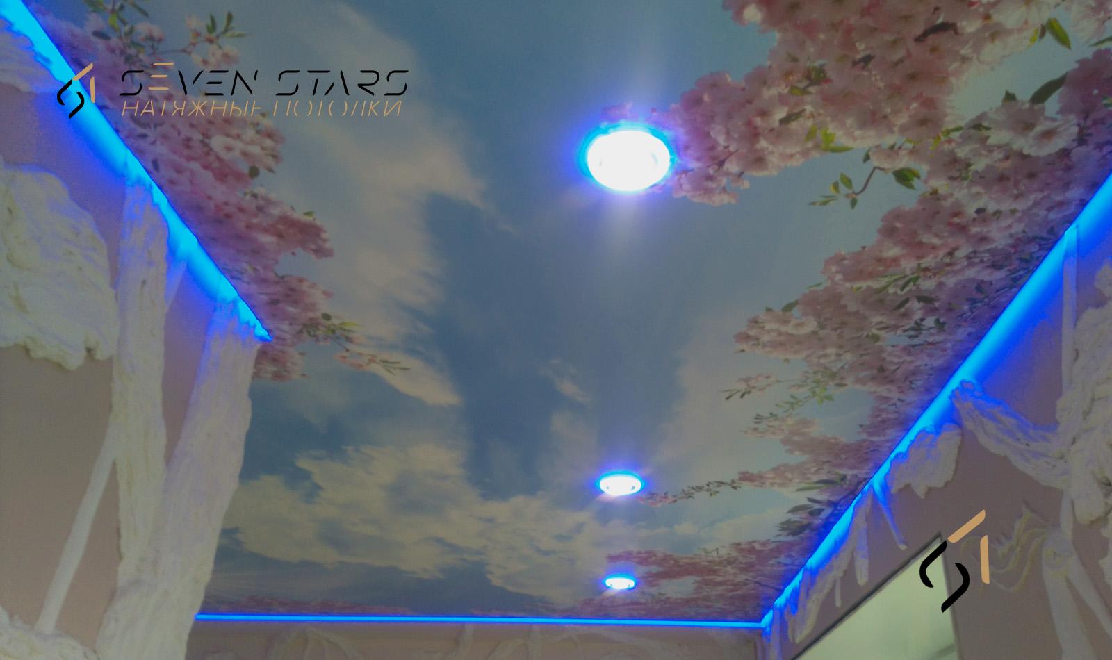 Световые потолки 14