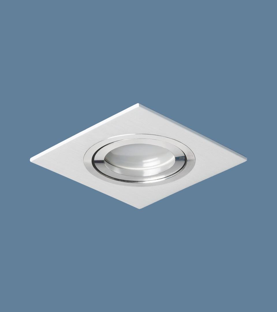 Точечный светильник поворотный 1051/1 WH белый 1