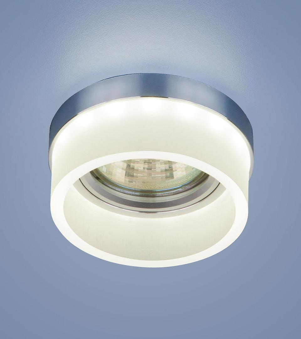 Точечный светильник с LED подсветкой 2205 MR16 MT матовый 2