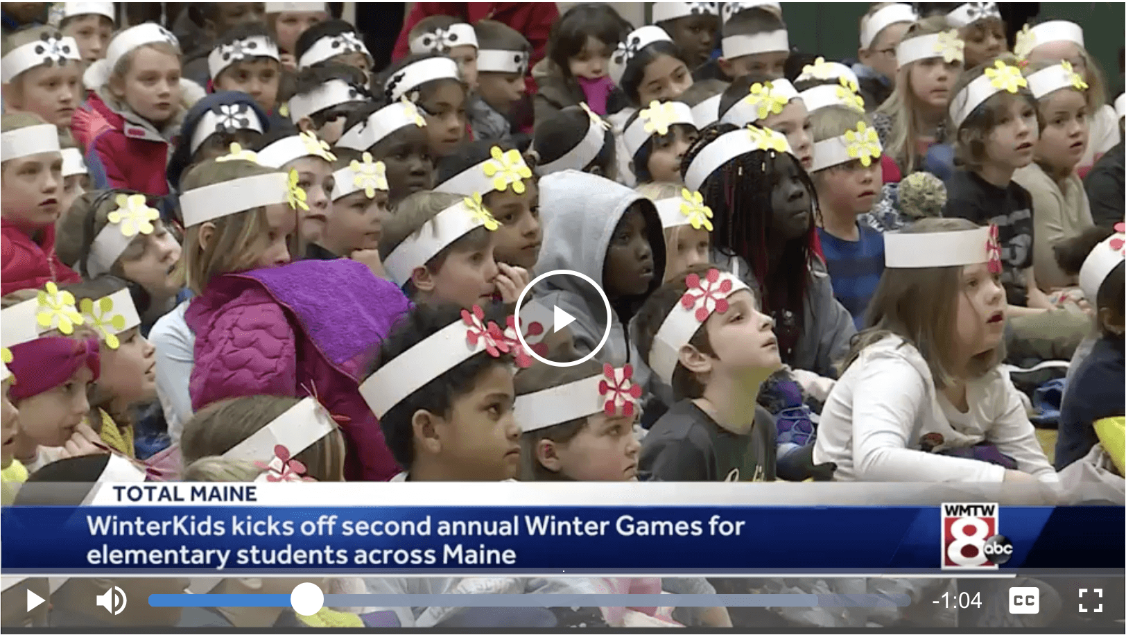 WinterKids Winter Games kicks off for elementary schools across Maine