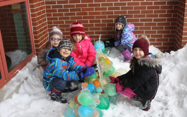 Fort Fairfield Students Learn About Winter Fitness With Outdoor Activities