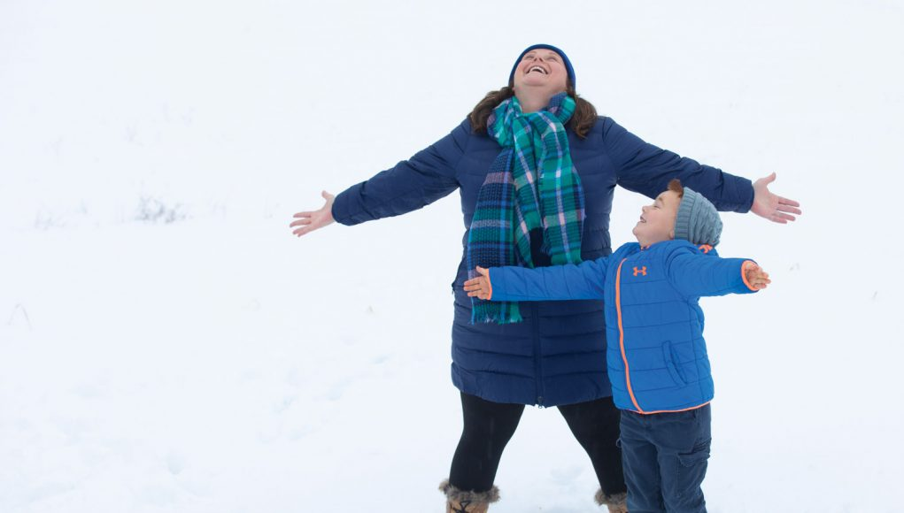 Snow Queen: How Julie Mulkern helps Maine kids get outside in winter.