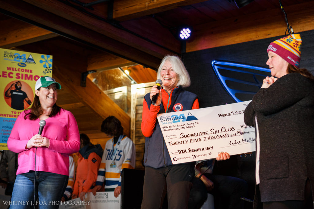 WinterKids gives $25,000 to Sugarloaf Ski Club