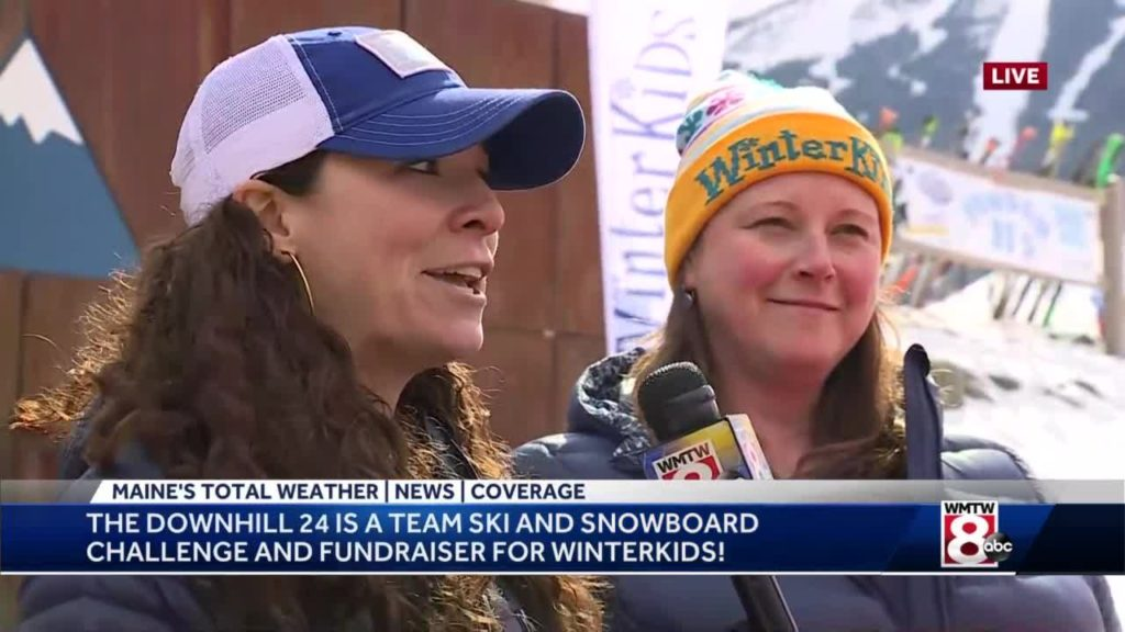 Skiers hit slopes of Sugarloaf for 24 straight hours to raise money for WinterKids