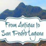Antigua to San Pedro Laguna. Guatemala