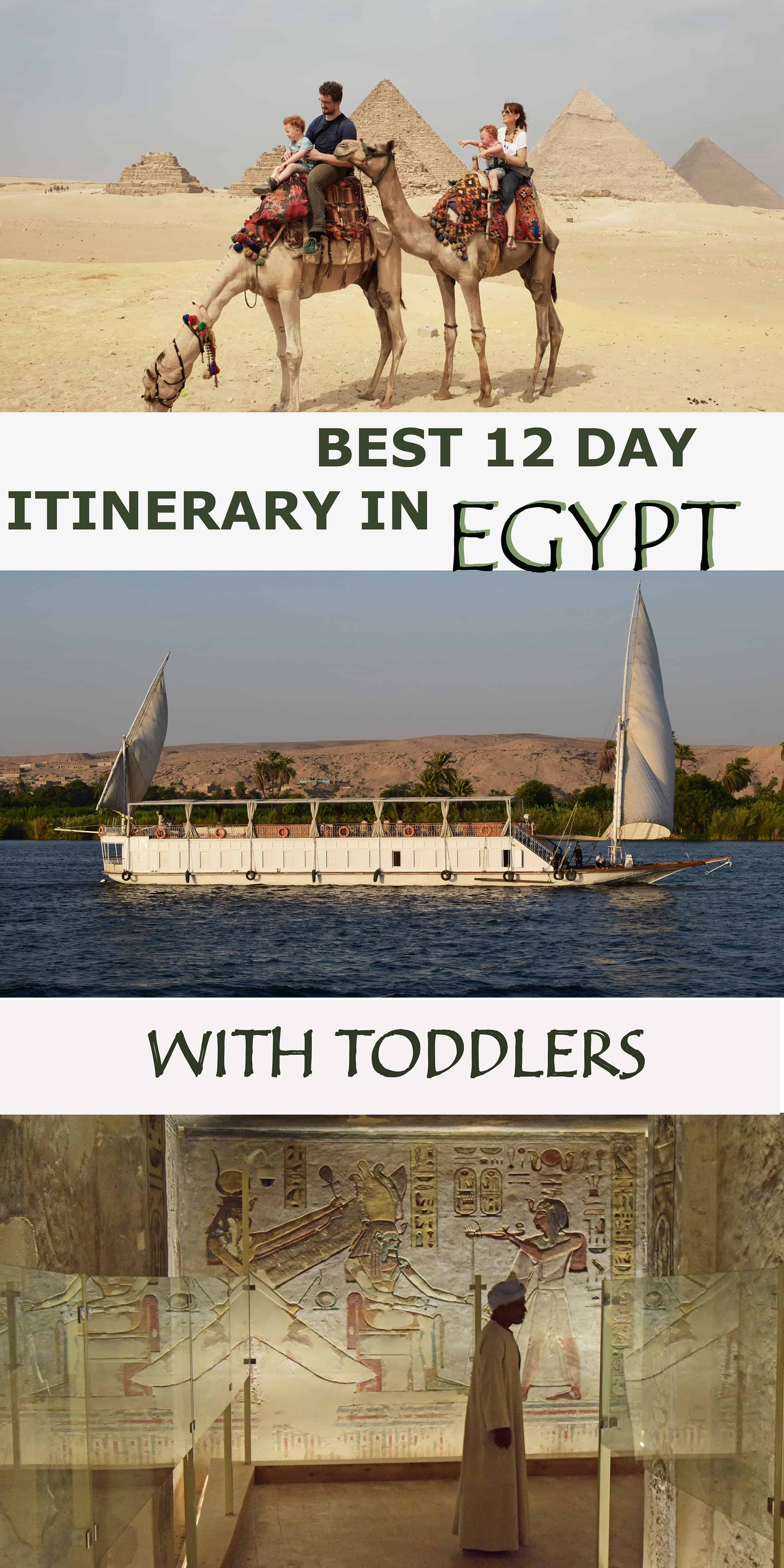 BEST 12 DAY ITINERARY IN EGYPT WITH TODDLERS