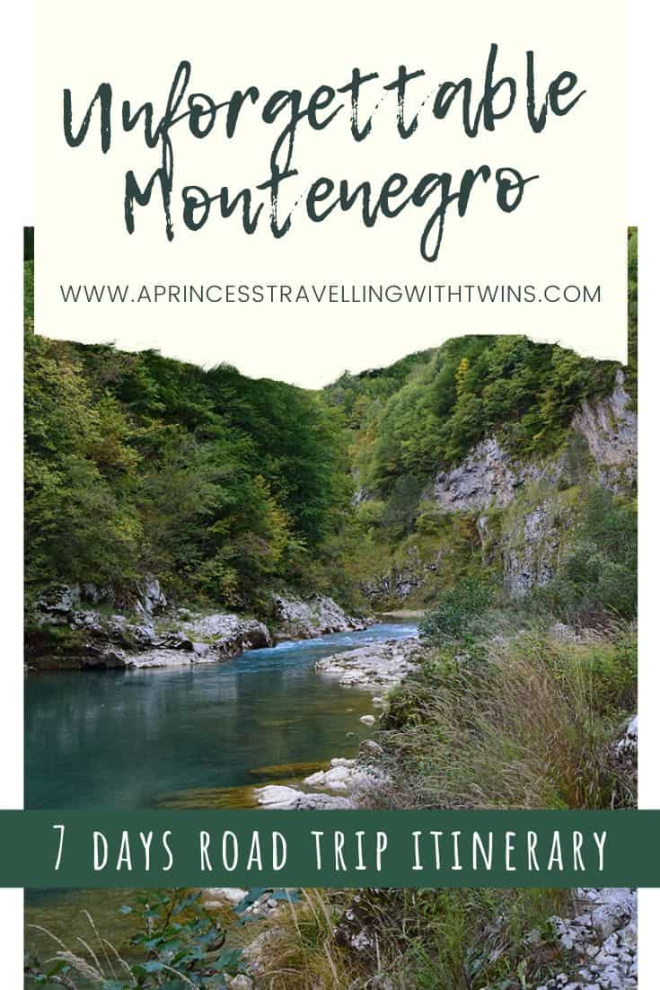 An epic Montenegro road trip itinerary with all the details about the best places to visit in Montenegro, where to stay and how to move around.