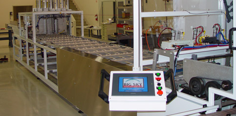 2-Up Clamshell Packaging Line