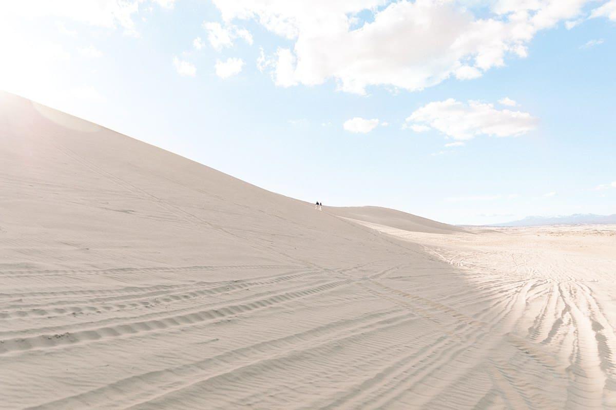 Utah desert engagement session, landscape nature photography