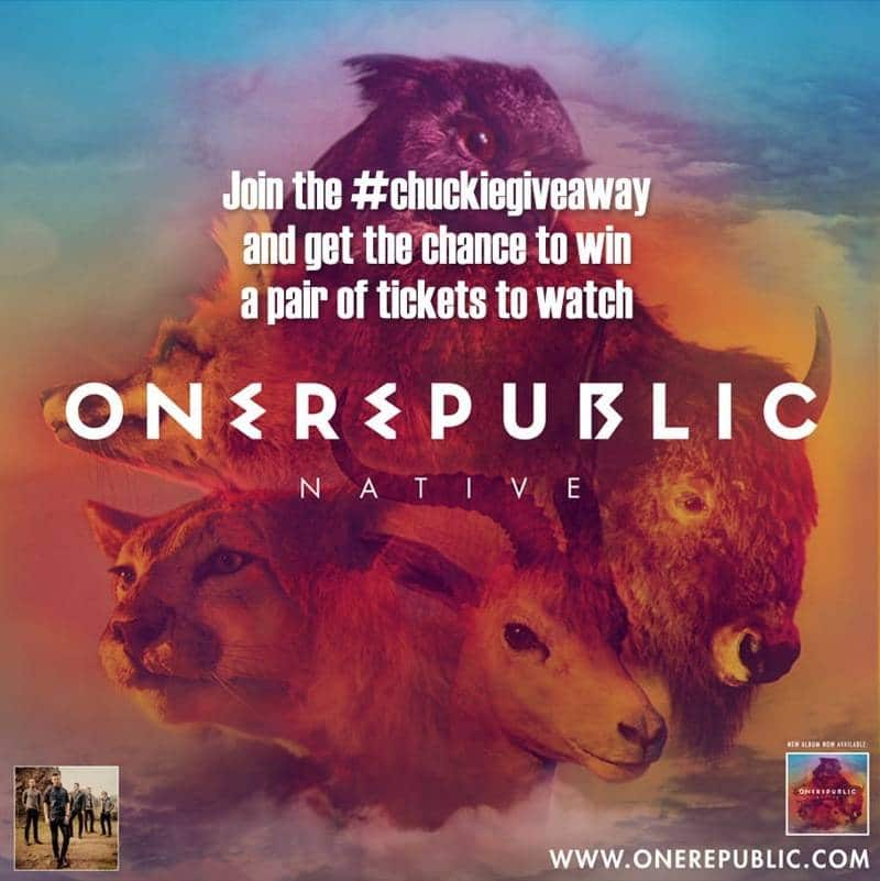 Win A Pair of Tickets to ONEREPUBLIC LIVE IN MANILA!