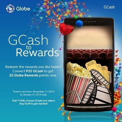GCash to Globe Rewards Points – It's possible!