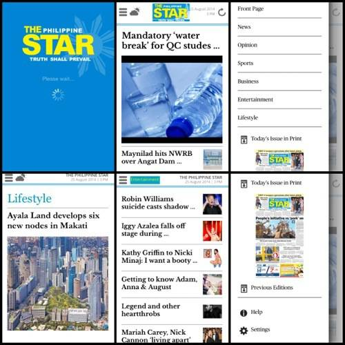 The Philippine Star Pagesuite App