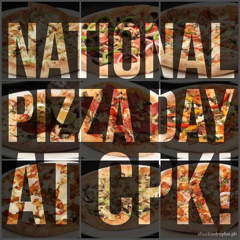 It's National Pizza Day at CPK!