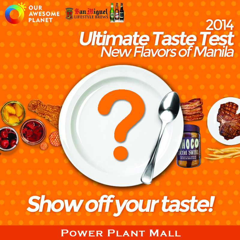 The Ultimate Taste Test 2014 - The Rockwell Tent