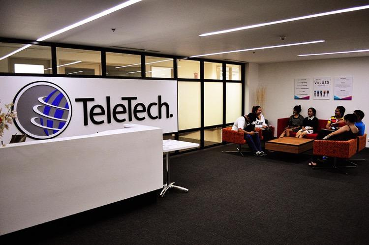 TeleTech opens its 17th site in Cubao... Check out their new facility!