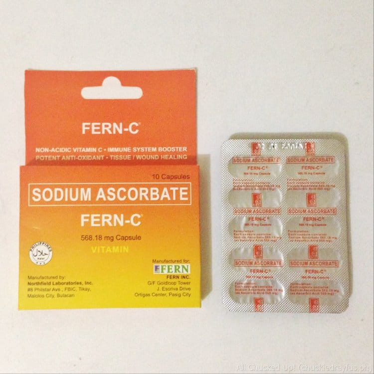 Fern-C Sodium Ascorbate – The right kind of Vitamin C