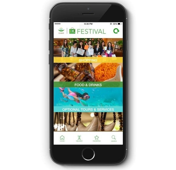 Shop Guam Festival Mobile App – Discover great finds and amazing discounts!