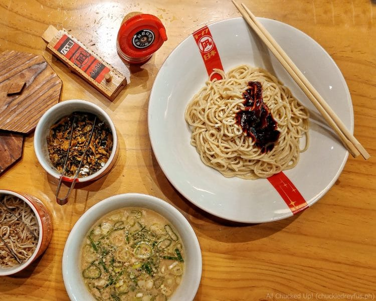 New dishes from Ramen Nagi – Tsukemen and Tonkatsu-Men