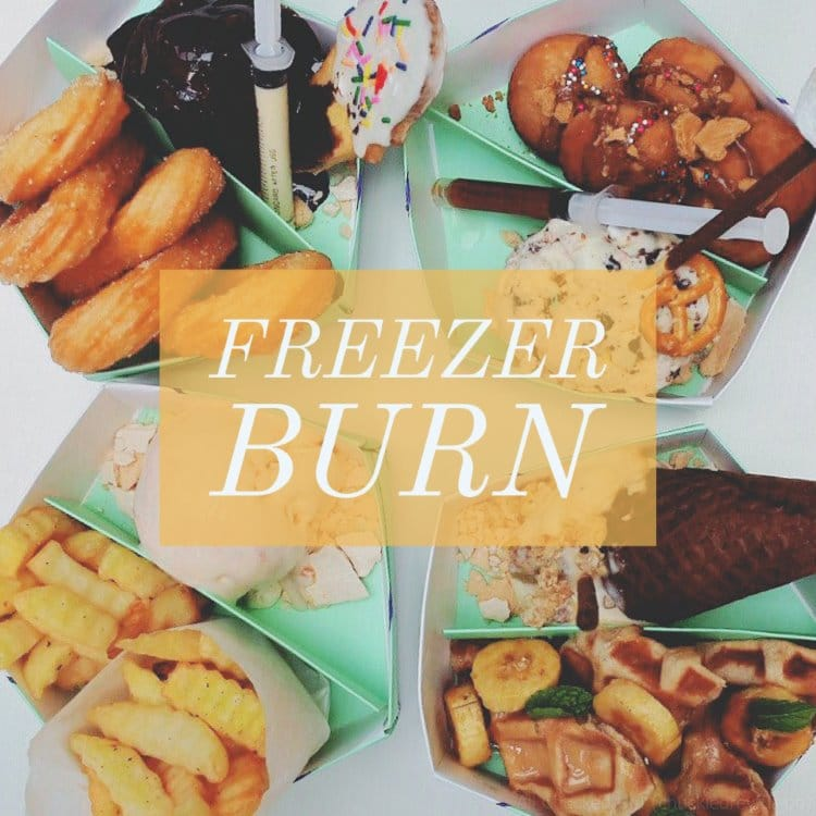 Freezer Burn at Bonifacio High Street, BGC – My kind of burn!