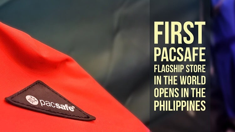 Pacsafe opens its first flaship store at Glorietta 5