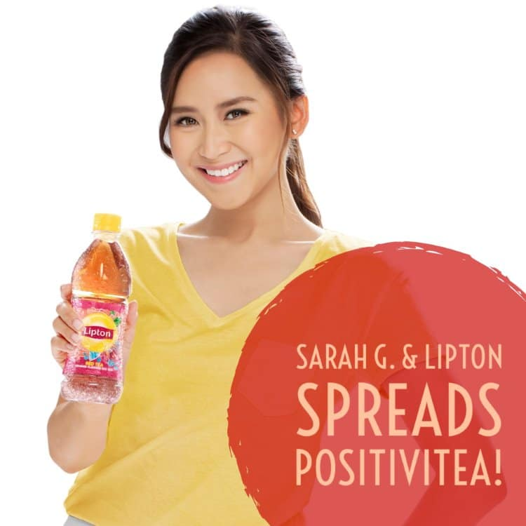 PositiviTEA – Lipton Ice Tea x Sarah Geronimo team up