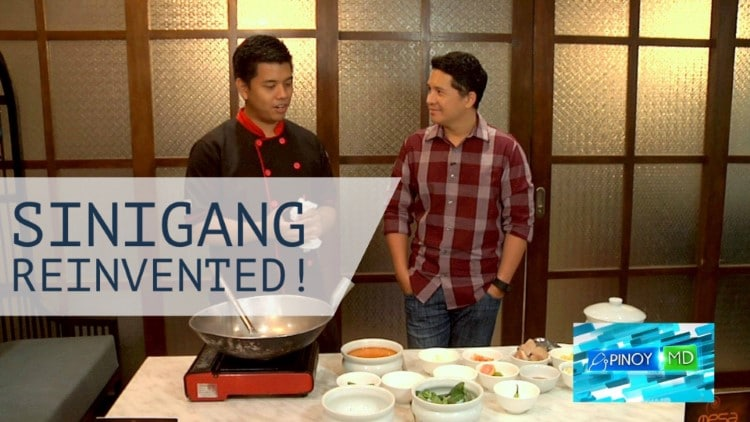 Sinigang reinvented – Tasting two unusual versions of sinigang!