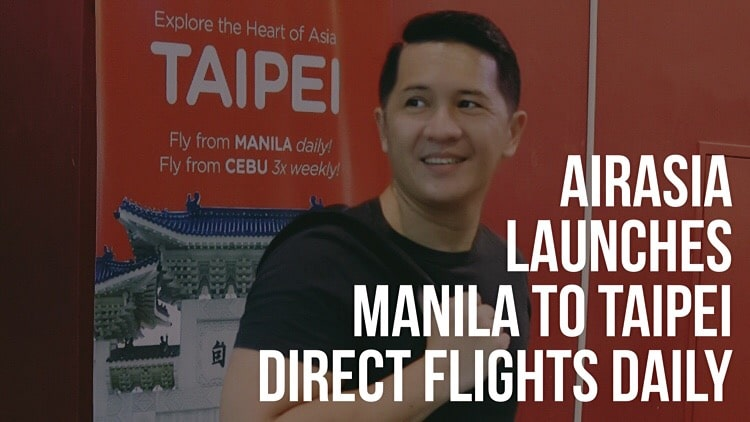 AirAsia launches Manila to Taipei direct flights daily