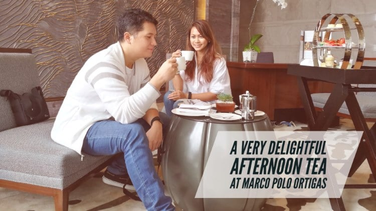 A very delightful afternoon tea at Marco Polo Ortigas