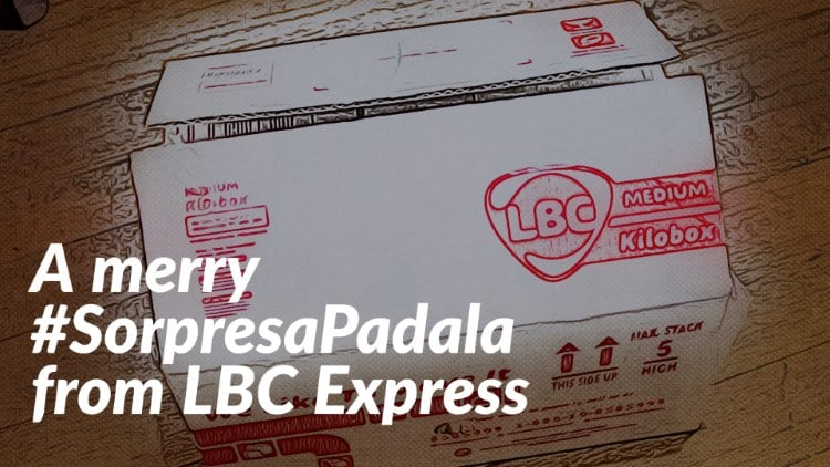 A merry #SorpresaPadala from LBC Express!