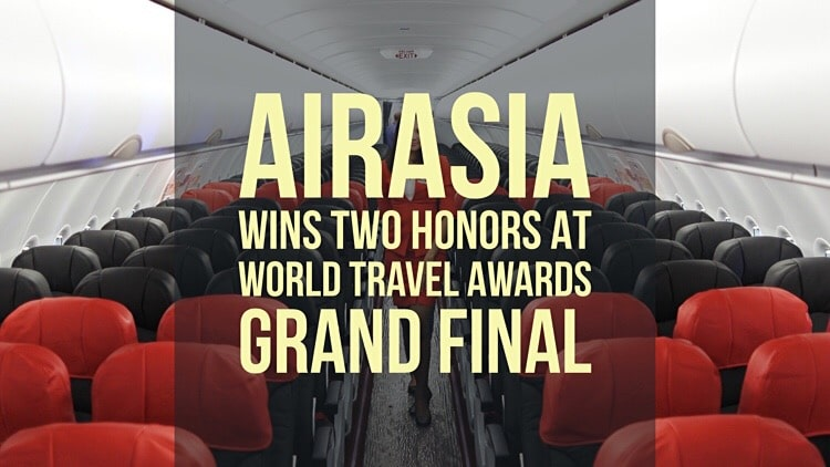 AirAsia wins two honors at 23rd World Travel Awards Grand Final