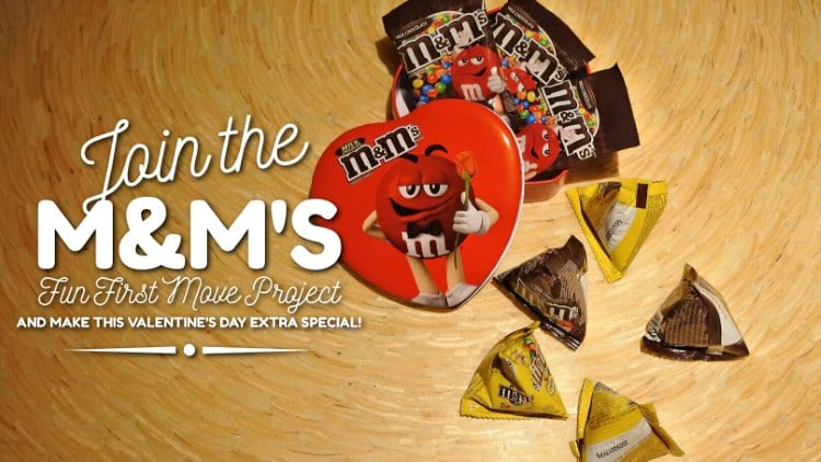 Join M&M'S Fun First Move Project and make Valentine's extra special!
