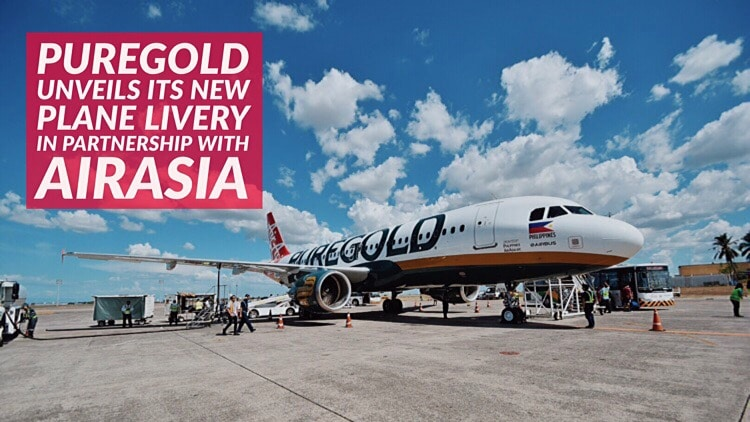 Puregold unveils its new plane livery in partnership with AirAsia