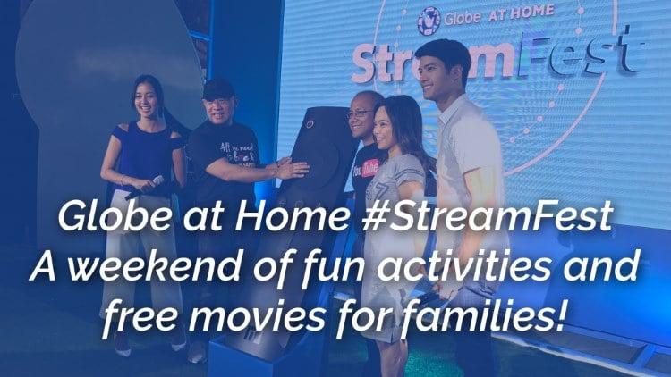Globe at Home #StreamFest – A weekend of fun activities and free movies for families!