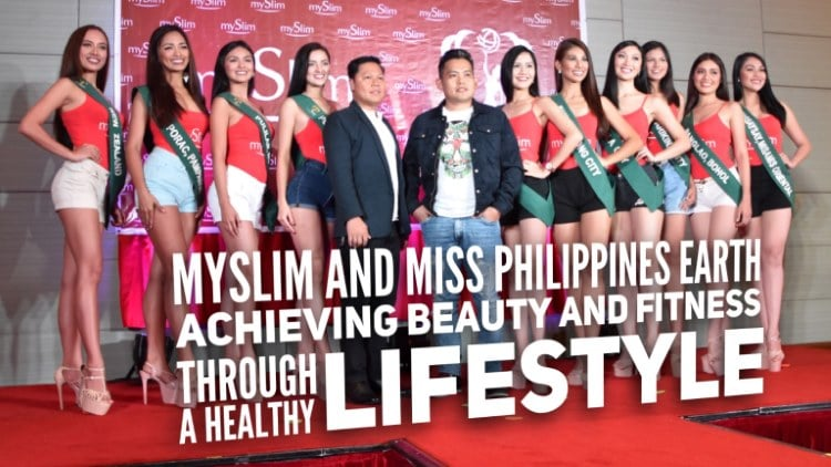 mySlim and Miss Philippines Earth – Achieving beauty and fitness through a healthy lifestyle