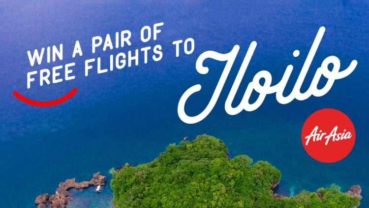WIN MANILA-ILOILO-MANILA ROUNDTRIP TICKETS VIA AIRASIA! Join my giveaway now!