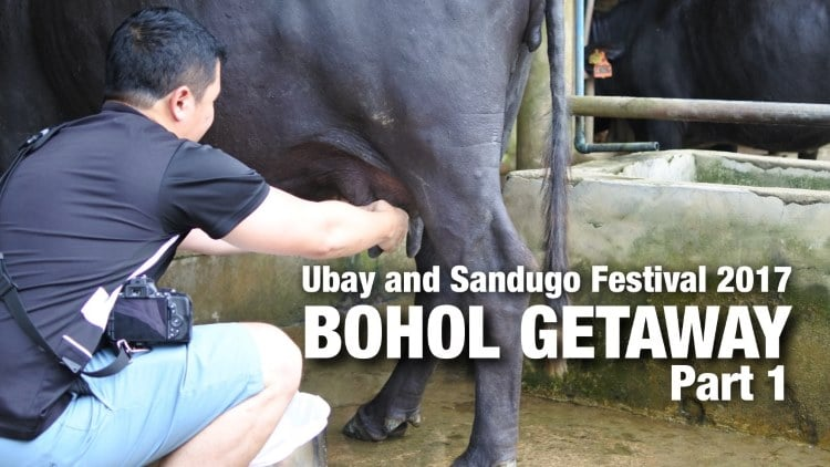 VLOG: Ubay and Sandugo Festival 2017 – Bohol getaway (Part 1)