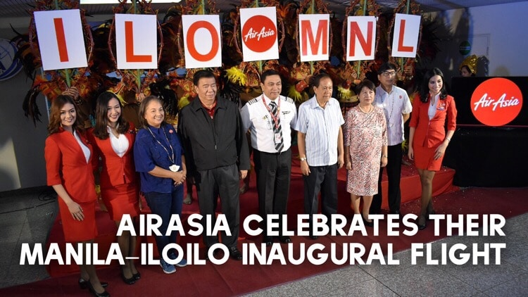 AirAsia celebrates their Manila – Iloilo inaugural flight