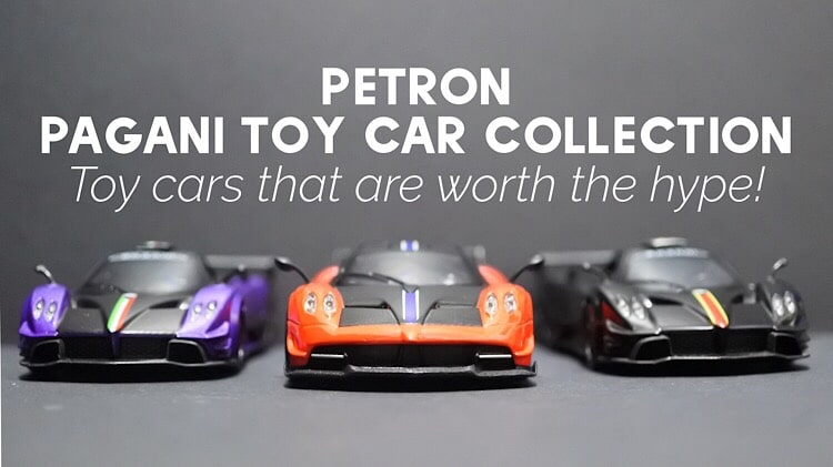Petron Pagani Toy Car Collection - Toy cars that are worth the hype!